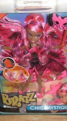 "NIP Bratz Chic Mystique African American ""Sasha"" Doll Dress Tranforms Beautiful*"