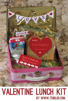 Printable Valentine's Lunch Kit - seven thirty three