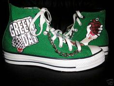 I Love Green Day, so of course Green Day Converse are even better :D