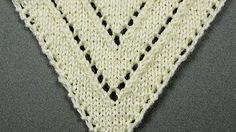 Chal Triangular Crochet Ganchillo con flecos - YouTube