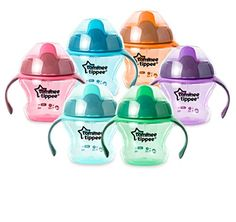 Tommee Tippee Closer to Nature First Sips Transition Cup, 5fl oz/150 ml, 4m+ (1 cup, Assorted Colors) - Deal Summer http://dealsummer.com/tommee-tippee-closer-to-nature-first-sips-transition-cup-5fl-oz150-ml-4m-1-cup-assorted-colors/