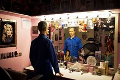 John Cameron Mitchell in his dressing room, Todd Heisler/NYT 'Hedwig and the Angry Inch' on Broadway
