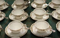 Enter to Win 2 Spode Stafford White Tea Cups as seen on Downton Abbey ~ $500 Value #Downton #Tea