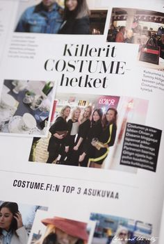 In Costume magazine (Finland): http://divaaniblogit.fi/charandthecity/2014/01/31/costume/