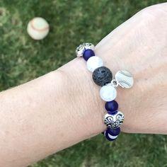 Custom sports mama aromatherapy bracelets!! Omgosh! Keeping those mamas calm! 😅😂🍃🌿😂 www.GreenLeafAromTherapyDesigns.com