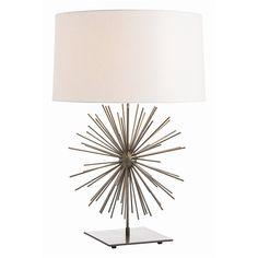 Arteriors Home Winnipeg Lamp - Arteriors Table Lamp Luxury Lighting, Home Lighting, Light Table, Lamp Light, Tall Table Lamps, Task Lamps, Bliss Home And Design, Contemporary Table Lamps, Modern Table
