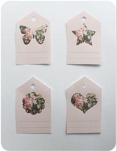 Free Printables - Floral Tags