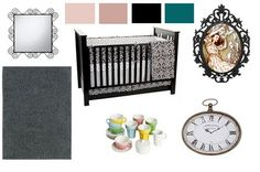 Alice In Wonderland Baby Room Decorations Photograph