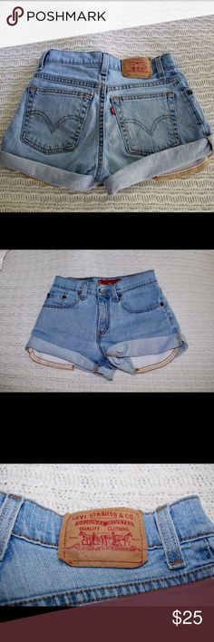 LEVI Jean Shorts Vintage Levi Low Stretch Jean Shorts. Super cute. Juniors size 1. Previously worn but no problems with them. Accepting offers. Levi's Shorts Jean Shorts