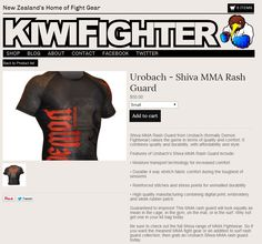 Oh Yeehhhh!  Urobach's MMA Gear is now available in New Zealand from our friends at Kiwii Fighter www.kiwifighter.co.nz in New Zealand's leading MMA Outlet  more products available at www.urobach.com