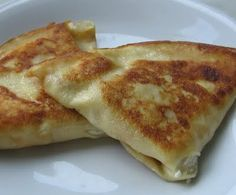 Nalesniki - Polish pancake crepe thing with cheese and other goodies inside.have them every holiday, want them every day. Lithuanian Recipes, Ukrainian Recipes, Russian Recipes, Polish Desserts, Polish Recipes, Polish Food, Czech Recipes, Ethnic Recipes, Russia Food