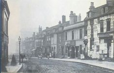 Ann st towards the town hall 1867, later became colmore row.