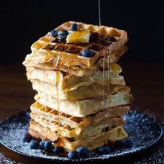 This light Crispy Belgian Waffles recipe will make any breakfast or brunch a hit! Make perfect belgian waffles every time with this easy recipe! Waffle Recipes, Brunch Recipes, Dessert Recipes, Desserts, Breakfast Recipes, Belgian Waffles, Sunday Brunch, Us Foods, Easy Meals