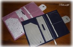 DIY Un compagnon de voyage avec de multiples poches pour garder tous les papiers importants bien organisés. (http://www.popcouture.fr/tuto/compagnon-de-voyage/)