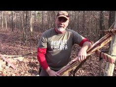 A Glorified Shaving Horse: How to Build a Paring Ladder in the Woods | Survival Sherpa