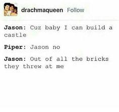 Heroes of Olympus  Jason Grace  Piper McLean