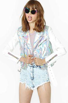 UNIF Gamma Ray Moto Jacket | Shop Clothes at Nasty Gal