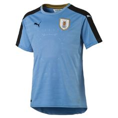 Puma Youth  Uruguay  Soccer Jersey (Home 2016/17): http://www.soccerevolution.com/store/products/PUM_40232_A.php