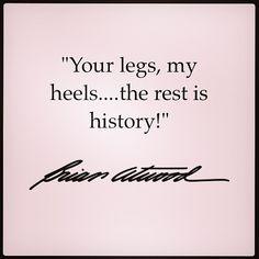 Make history today! #brianatwood #thesexisintheheel #Padgram