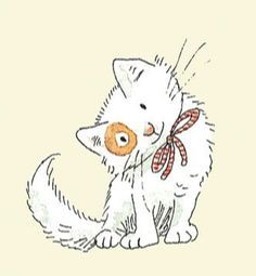 Anita Jeram cats | 1000+ images about Anita Jeram Cats and Dogs on Pinterest | Children's ...