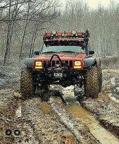 Red Jeep, Extended axel.