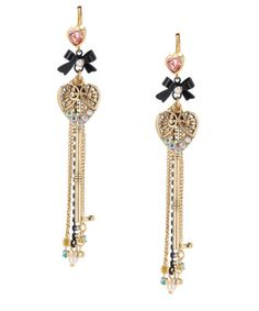 I am in love with Betsey Johnson's jewelry.  It is so expensive, but so cute.