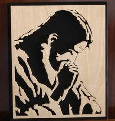 cristo assorto in preghiera