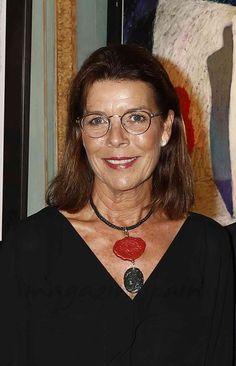 Carolina de Mónaco inaugura una exposición en Mónaco