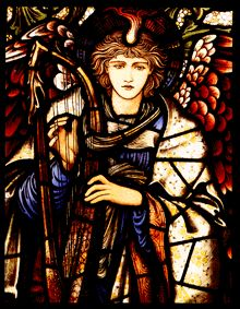 #vitraux #stained-glass  angel