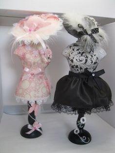 Miniature Dress Forms