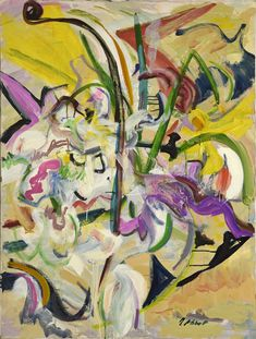 Available for sale from McCormick Gallery, Mary Abbott, Untitled, Oil on canvas, 40 × 30 in Garden Painting, Painting & Drawing, Modern Art, Contemporary Art, Australian Painting, Cubism Art, Flower Art, Art Flowers, Female Art
