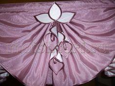 Каллы из ткани