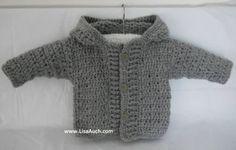 free crochet baby sweater patterns-crochet patterns for boys
