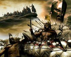 300 - collage by bCyclon on DeviantArt 300 Leonidas, Fighting Tattoo, Gladiator Tattoo, 300 Movie, Spartan Tattoo, Lion Photography, Greek Warrior, Spartan Warrior, Warrior Tattoos