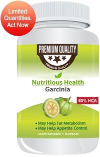 Nutritious Health Garcinia