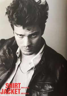 Jamie Dornan Life: New/Old HQ Scans of Jamie from Armani Jeans (2008)...
