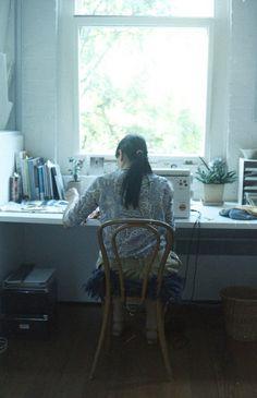 Elizabeth's apartment by schorlemädchen, via Flickr