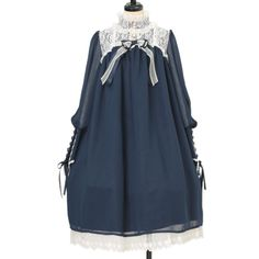 ♡ BABY THE STARS SHINE BRIGHT ♡ Lace switching dress http://www.wunderwelt.jp/products/detail10351.html ☆ ·.. · ° ☆ How to order ☆ ·.. · ° ☆ http://www.wunderwelt.jp/user_data/shoppingguide-eng ☆ ·.. · ☆ Japanese Vintage Lolita clothing shop Wunderwelt ☆ ·.. · ☆