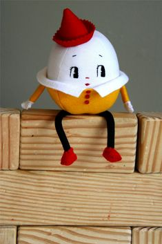 vintage Humpty Dumpty Doll pattern | Humpty Dumpty Sat on a Wall
