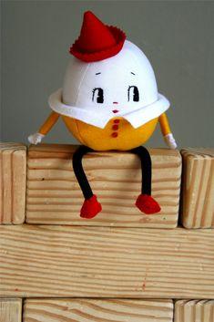 vintage Humpty Dumpty Doll pattern | Humpty Dumpty Sat on a Wall
