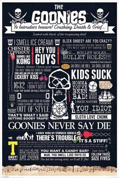 Typographic by The Goonies