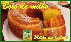 Bolo de milho de latinha (broa) Delicioso   Pães e salgados > Receitas de Broa   Receitas Gshow