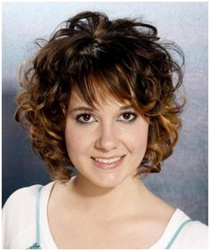Beautiful Short Curly Hairstyles for Women