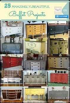 25 amazingly beautiful buffets, painted furniture, rustic furniture, 25 Amazingly Beautiful Buffets