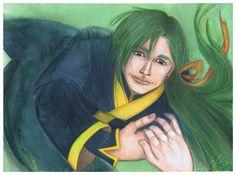 Jae-ha, Akatsuki no Yona, fanart by me http://silviagalasso.deviantart.com/gallery/ http://galasso-silvia.blogspot.it/ #manga #anime #akatsukinoyona #silviagalasso
