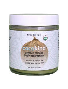 Organic Matcha Body Moisturizer