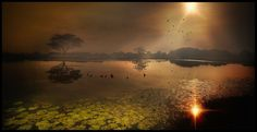 The Lake  Landscapes photo by arleyagudelo http://rarme.com/?F9gZi