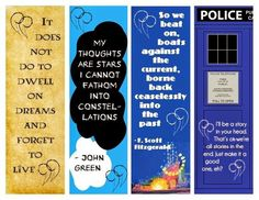 Bookmark Quotes For Students