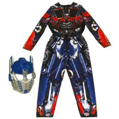 Transformers: Dark of the Moon - Robo Power - Costume Optimus Prime (Medium) by Hasbro. $11.06. From the Manufacturer                Optimus Prime is the mighty leader of the Autobots.                                    Product Description                Detailed costume and mask let you step into the identity of the AUTOBOT leader! Stage your own battles and experience the thrill of DECEPTICON defeat when you become your favorite bot leader! Includes mask and jumpsuit....