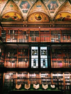 The outside may not look like much, but the inside of New York City's Morgan Library and Museum is like something you'd find in a much-older European town, not exactly the city that brought the world Sbarro Pizza and Donald Trump... but it's right in the heart of the Big Apple.